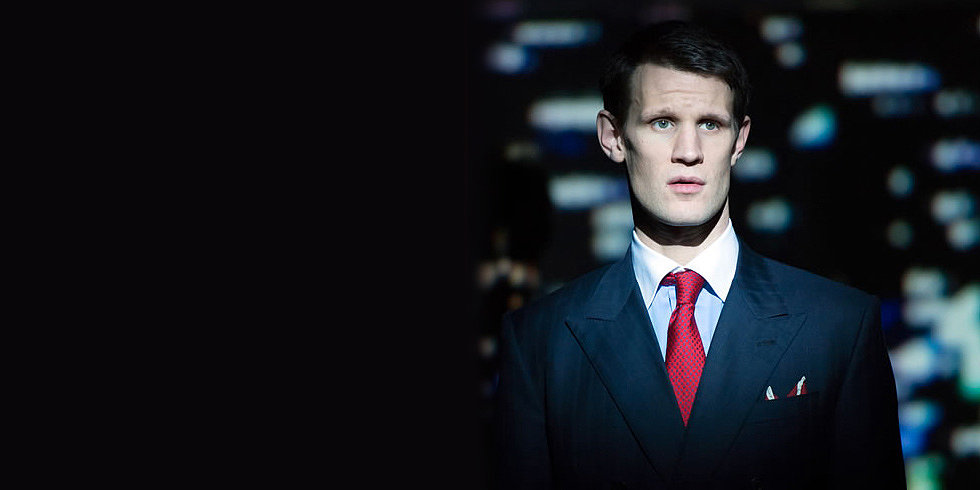 Matt Smith Suits Up in American Psycho the Musical