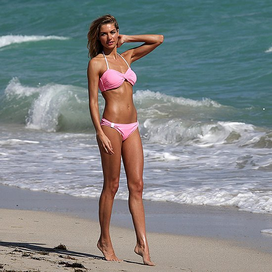 Jessica Hart Bikini Model Victoria's Secret | Video