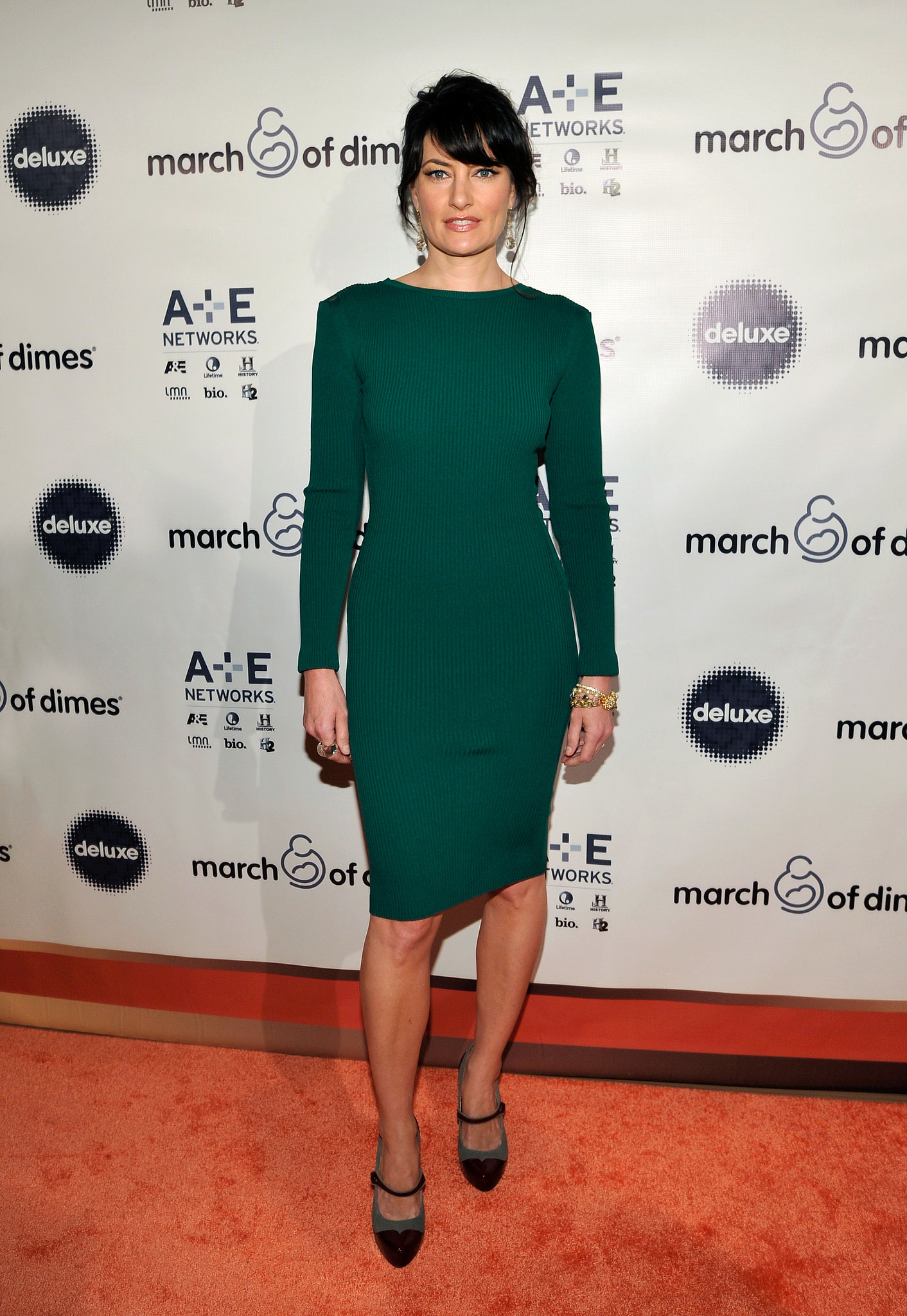 Madchen Amick stepped out for the event.