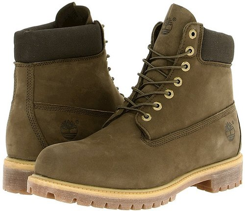 Timberland - Classic 6 Premium Boot (Olive Green) - Footwear