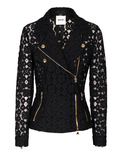 MOSCHINO Cheap and Chic Biker Lace Black