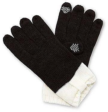 Lulu by Lulu Guinness® Colorblock Bow Gloves