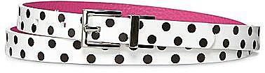 Lulu by Lulu Guinness® Reversible Polka-Dot Belt