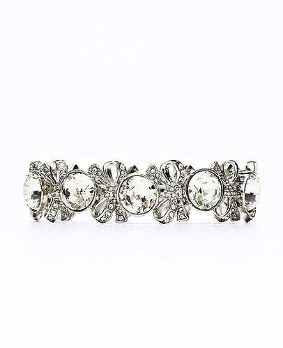 Pave Cocktail Bow Bracelet