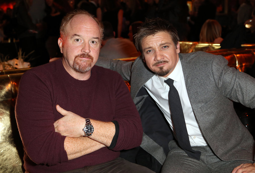 Photo of Louis C.K. & sein freund  Jeremy Renner