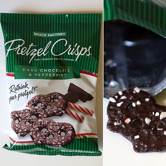 Pretzel Crisps Dark Chocolate and Peppermint