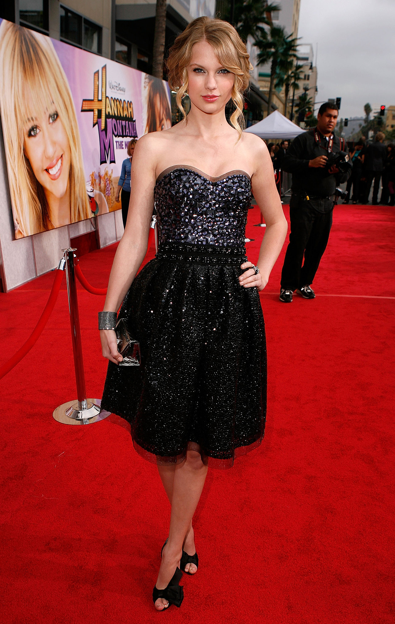 Hannah montana red dress