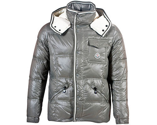 Moncler Mens Down Coats 7809 Grey