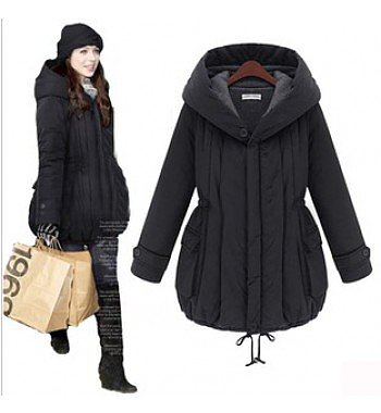 inter thickening plus size cotton-padded wadded jacket