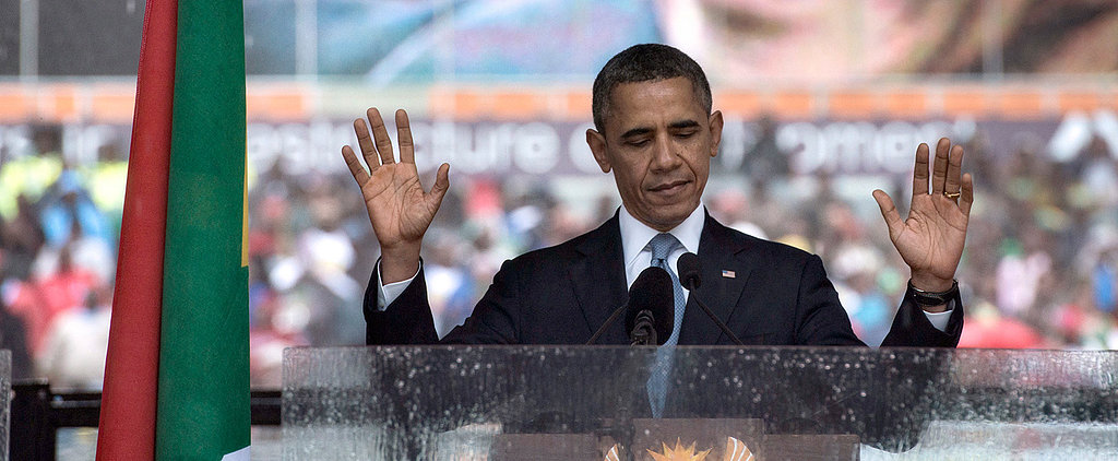 Obama's Stirring Nelson Mandela Tribute Will Inspire You