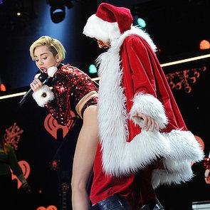 Miley Cyrus, Selena Gomez, Lindsay Lohan At Z100 Jingle Ball