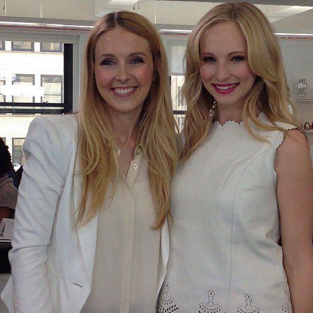Candice Accola stopped by to talk about her character on The Vampire Diaries.