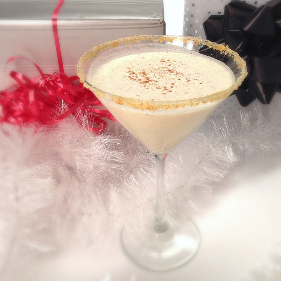 Eggnog Martini Cocktail Video