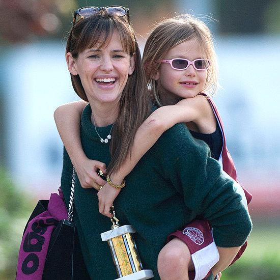 Jennifer Garner and Violet Affleck Shopping in LA