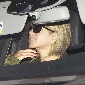 Jennifer Aniston Attends Emily Blunt's Baby Shower