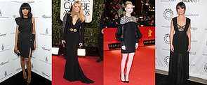 The Best Black Dresses to Hit the Red Carpet in 2013