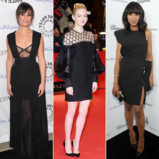 Celebrities Wearing Little Black Dresses