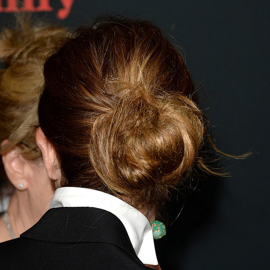 Julia Roberts Hair in Messy Chignon