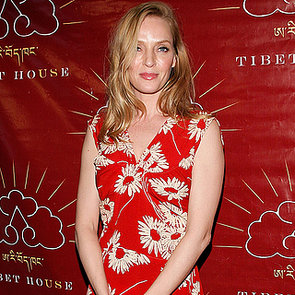 Uma Thurman Wears Snow Boots On Red Carpet