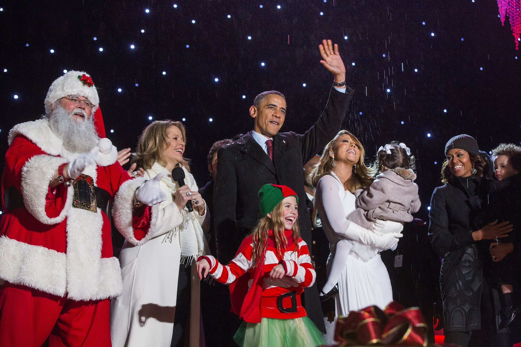 They Shared the Stage With Mariah Carey For the National Tree-Lighting