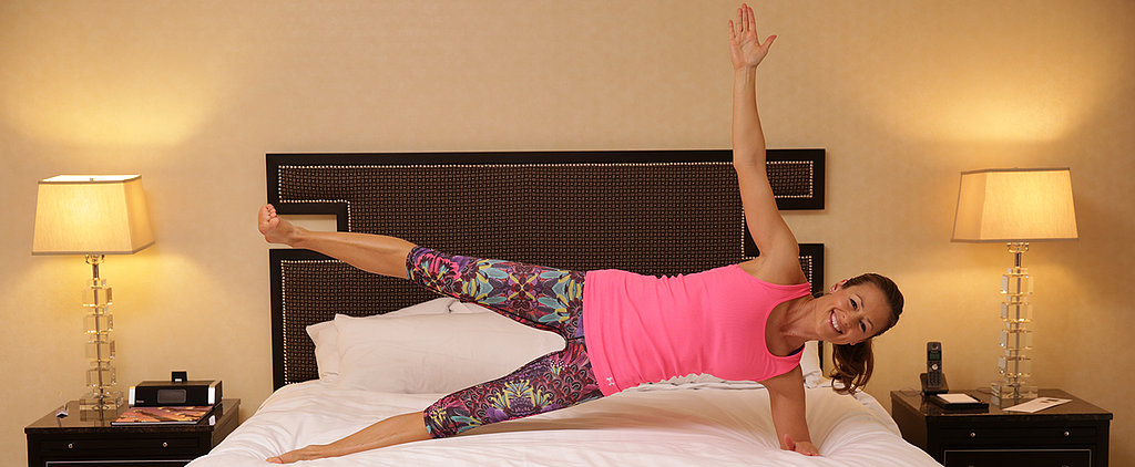 Burn Some Calories in Bed With This Full-Body Workout