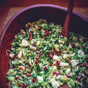 Sautéed Brussels Sprouts With Pomegranates