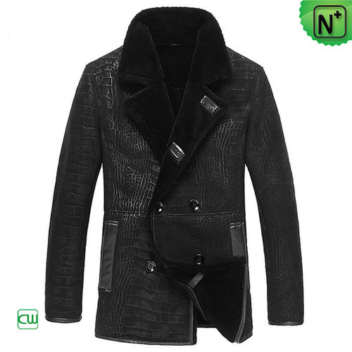 Mens Shearling Leather Coats CW877055