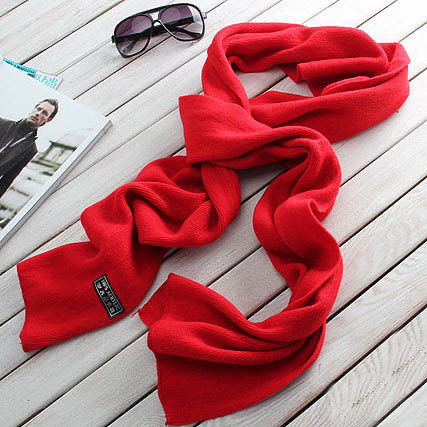 Image of [grzxy6600870]Leisure Simple Solid Color Warm Scarf