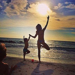 Celebrity Moms' Instagram Pictures Week of Dec. 15, 2013
