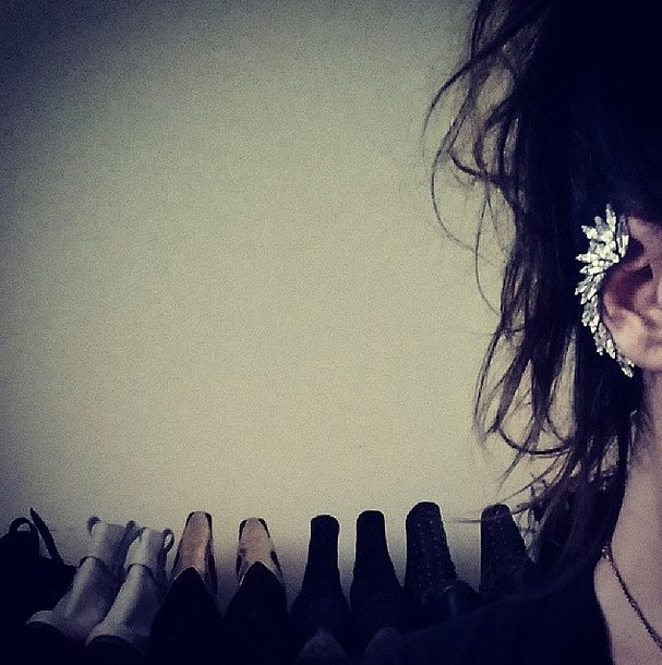 How do we get our hands on this awesome ear bling? Source: Instagram user rachelstrugatz