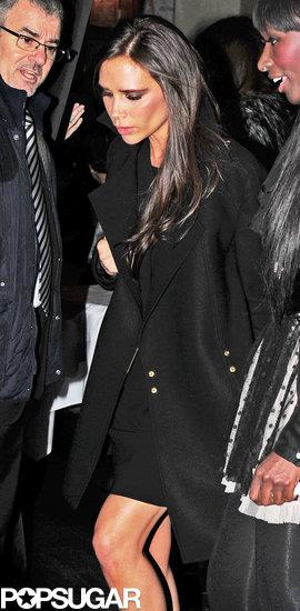 Victoria Beckham had a night at La Petite Maison with Tana Ramsay.
