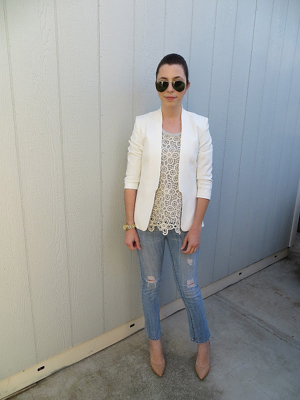 Congrats, Rita! We'd like to steal that lace top for our own wardrobes!