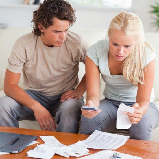 Couples Spending Money