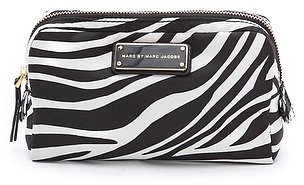 Marc by marc jacobs Zebra Nylon Cosmetic Bag