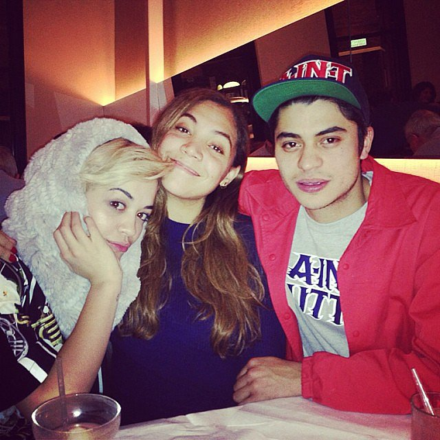 Rita Ora shared a group photo.  Source: Instagram user ritaora