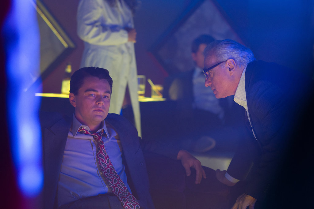 Scorsese got personal with DiCaprio on set.