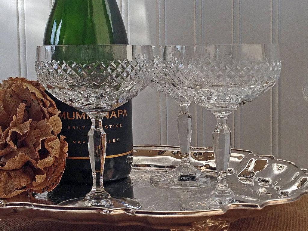best champagne coupes popsugar food. Black Bedroom Furniture Sets. Home Design Ideas