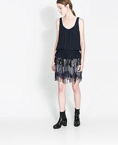 Zara-Fringed-Crepe-Dress-70-originally-100