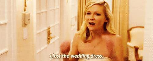 Don't Lose the Wedding Dress