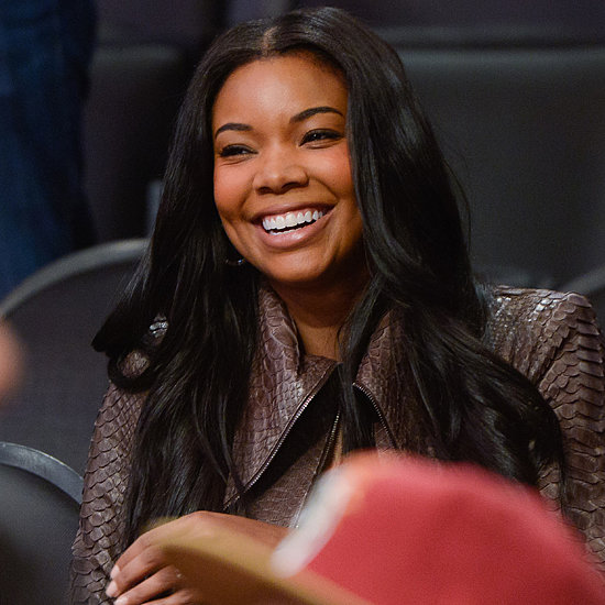 Gabrielle Union at the Miami Heat Game on Christmas Day 2013