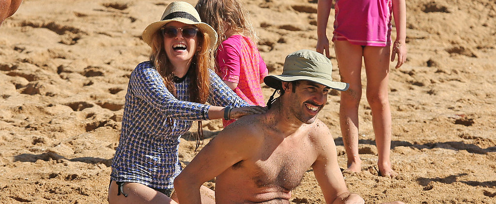 Isla Fisher and Her Family Have Fun in the Hawaiian Sun