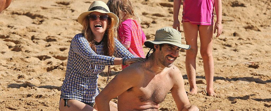 Isla Fisher and Her Family Have Fun in the Hawaiian Sun