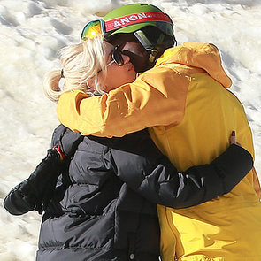 Gwen Stefani And Seal Skiing With Kids In California