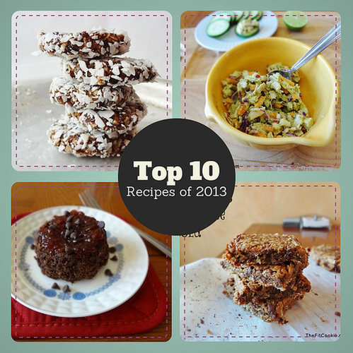 Top 10 Recipes of 2013 - TheFitCookie.com