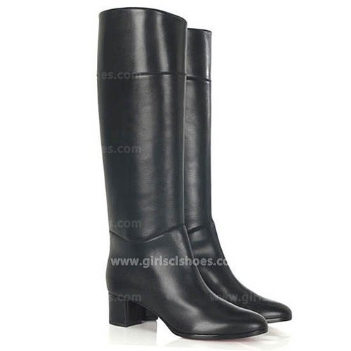 Affordable Tuba Christian Louboutin Boots 2013 Black 50mm