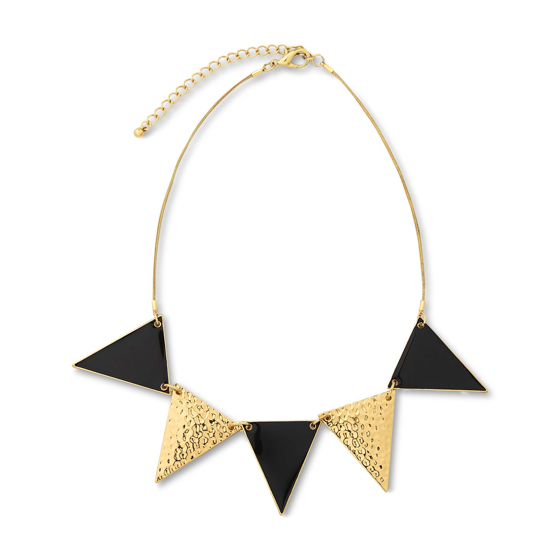 Triangles Choker Necklace ($13)