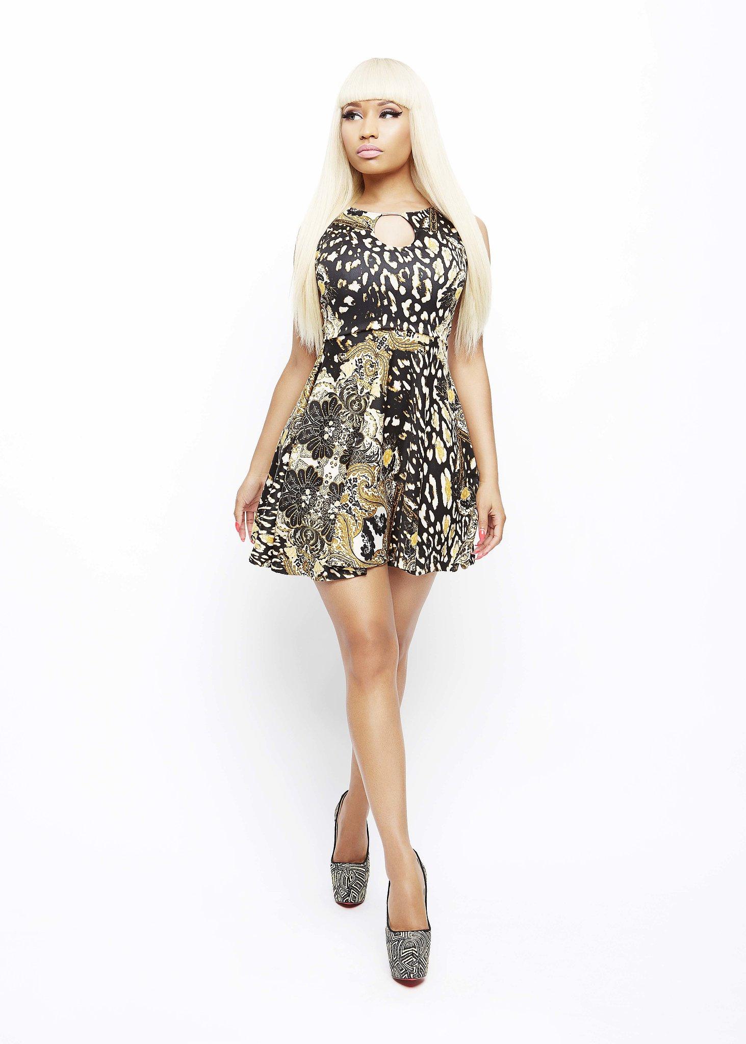 Filigree Leopard Print Keyhole Dress ($30)