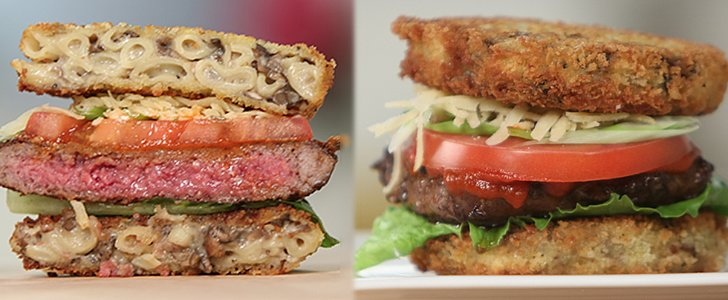 Eat the Trend: Truffle Mac 'n' Cheese Burger