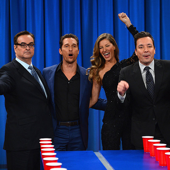 Gisele Bundchen on Late Night With Jimmy Fallon 2014