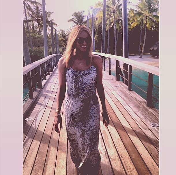 Ciara soaked up the sun on a relaxing getaway. Source: Instagram user ciara
